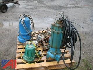 Sewage Pumps & Various Air Valves