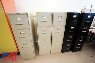 4 Drawer Steel File Cabinets