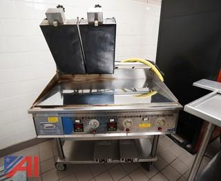 "Keating 42"" Gas Griddle/Panini Sandwich Presses"