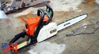 "Stihl #017 14"" Chainsaw"