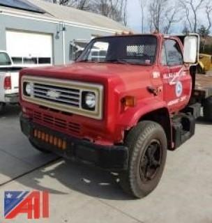 1985 GMC 6000 Flatbed Truck