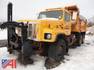 2002 International 2674 Dump Truck & Bottom Spreader