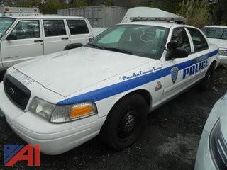 (#14) 2009 Ford Crown Victoria 4 Door/Police Interceptor