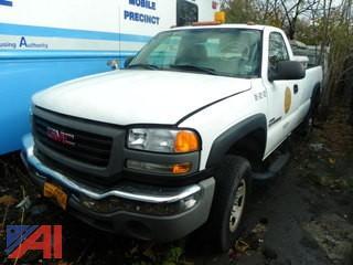 (#3) 2006 GMC Sierra 2500HD Pickup Truck