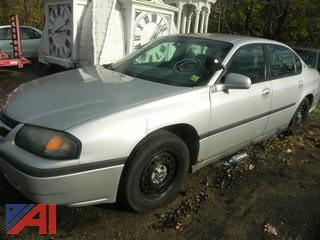 (#6) 2001 Chevy Impala 4 Door