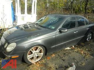 (#21) 2004 Mercedes-Benz E500 4 Door