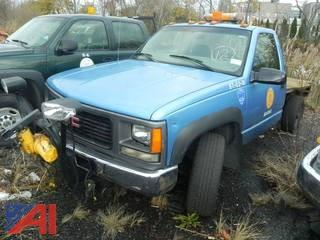 (#12) 1997 GMC SIerra C/K 3500 Pickup with Flatbed