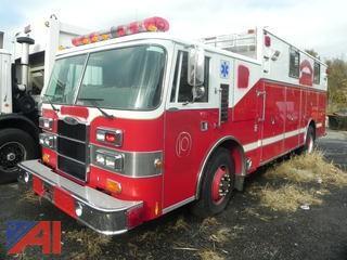 (#10a) 1991 Pierce HDR Emergency Vehicle