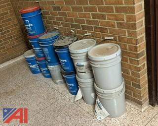 5-Gallon Pails of Athletic Field Marking Paint