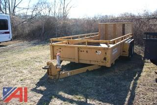 2002 Custom Trailer with Ramp