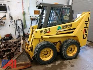 2003 Gehl 4635 Skid Steer Loader with Tracks