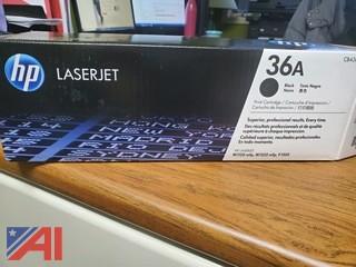 HP LaserJet Ink Black Cartridge 36A