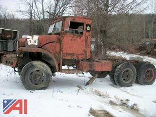 Army/Military Cab and Chassis (Parts Only)