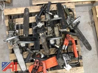 Various Pneumatic Chain Saws