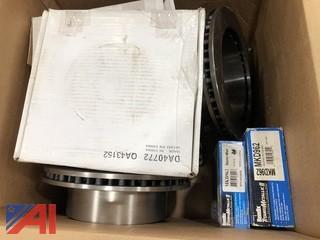Various Brake Rotors & Brake Pads