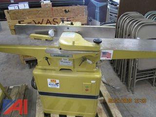 "Powermatic 8"" Wood Jointer"