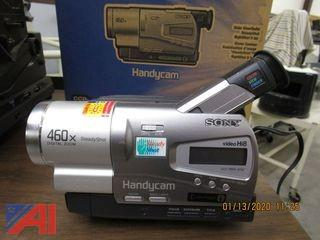 Movie Projectors, Camcorders and Screens