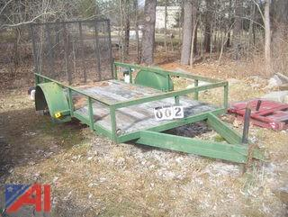1997 Massons Welding 6310L Trailer with Ramp