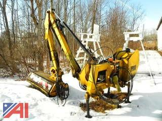 2008 ORSI River 1649 Flail Mower