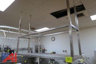 Overhead Stainless Steel Rack