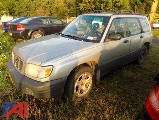 2001 Subaru Forester 4DSD