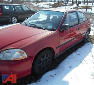 1998 Honda Civic Hatch Back 2 Door