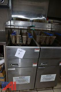 Pantin Double Fryers