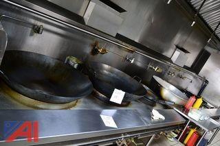 Large Wok Pans