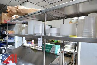 Stainless Steel Shelf System