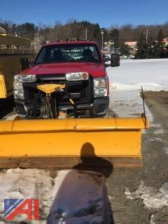 2011 Ford F350 XL Super Duty Pickup Truck with Plow