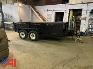 2011 Bri-Mar Easy Dump Trailer with Ramps