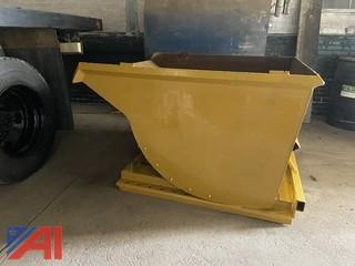 Steel Dump Hopper