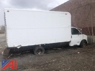 1997 Chevy Express G3500 Box Truck (Parts Only)