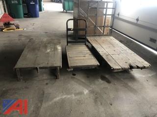 Antique Warehouse Carts