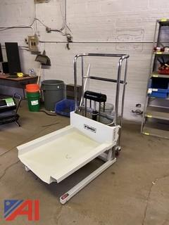 Roughneck Ultra Low-Profile Lift Table Cart