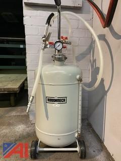 Roughneck Pneumatic Oil Dispenser, 8 Gallons