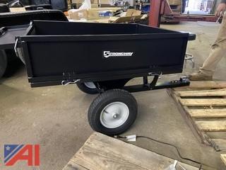 Strongway Steel ATV Trailer