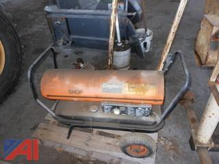 Dayton 125,000 BTU Space Heater