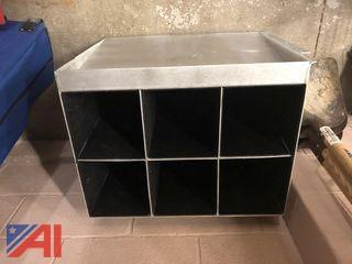 Aluminum SCBA Rack