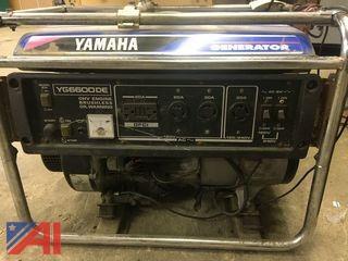 2008 Yamaha OHV Generator
