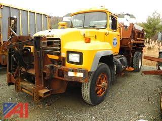 2002 Mack RD690P Dump Truck with Sander