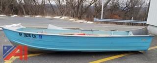 Fury PB143F V-Bottom Aluminium Jon Boat