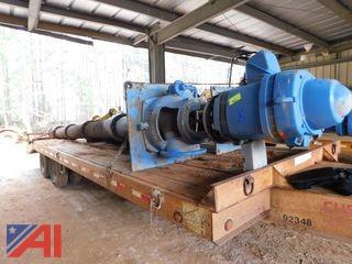 Worthington High-Pressure Service Pump with Motor, #1
