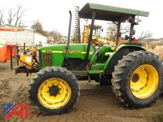 1999 John Deere 5310 Tractor with Sickle Bar