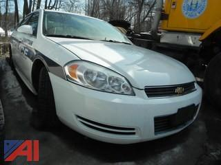 2010 Chevy Impala 4 Door/Police Vehicle