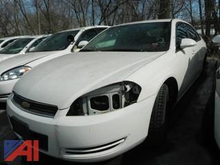 2008 Chevy Impala 4 Door/Police Vehicle
