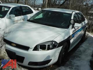 2013 Chevy Impala 4 Door/Police Vehicle