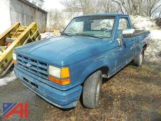 1990 Ford Ranger Pickup Truck
