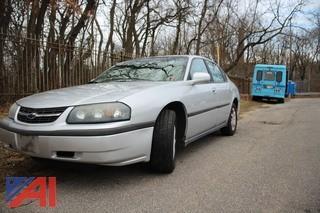 2002 Chevy Impala Sedan