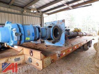 Worthington High-Pressure Service Pump with Motor, #2